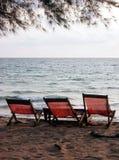 стулы пляжа Стоковая Фотография RF