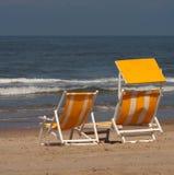 стулы пляжа Стоковое Изображение RF