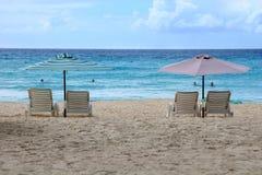 стулы пляжа Стоковые Фото