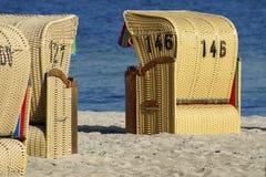 стулы пляжа Стоковые Фотографии RF