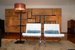 стулы расквартировывают интерьер Стоковые Изображения RF