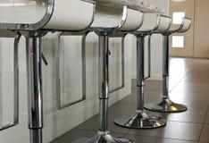 стулы штанги конструируют интерьер детали Стоковые Фото