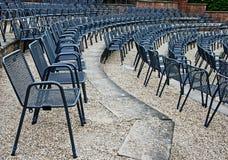 стулы amphitheatre Стоковые Фотографии RF