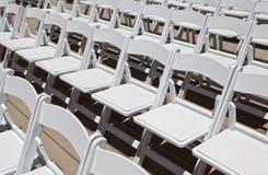 стулы wedding белизна Стоковое Изображение RF