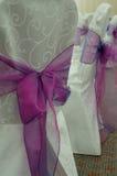 стулы wedding Стоковое фото RF