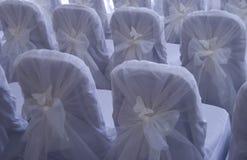 стулы wedding Стоковое Изображение RF