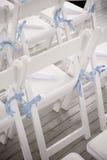 стулы wedding стоковые изображения rf