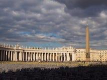 Стулья на квадрате St Peter Стоковое Фото