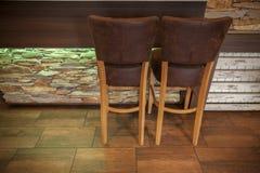 2 стуль бара Стоковое Фото