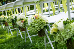 Стул венчания стоковые фотографии rf