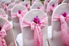 Стул венчания стоковое фото