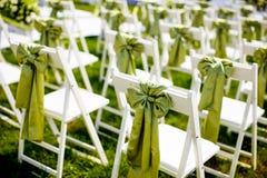 Стул венчания стоковое фото rf