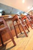 стул деревянный Стоковые Изображения