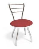 стул закрепляя включенную изолированную белизну путя Стоковые Фото