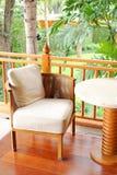 стул напольный Стоковая Фотография