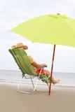 стул пляжа Стоковое Фото