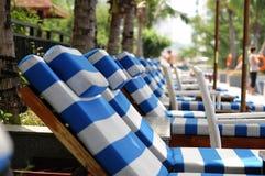 стул пляжа стоковое фото rf