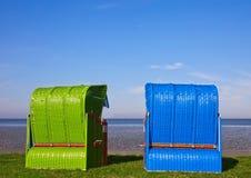 стул пляжа Стоковые Изображения