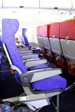 стул самолета стоковая фотография