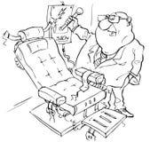 стул электрический Иллюстрация штока