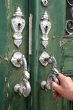 стучать 2 дверей Стоковые Фотографии RF