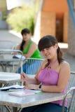 2 студента Стоковые Изображения RF
