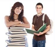студенты молодые Стоковое Изображение