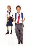 Студенты начальной школы Стоковое фото RF