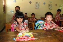 Студенты начальной школы стоковая фотография rf