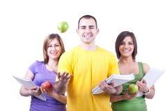 студенты яблок Стоковое Фото