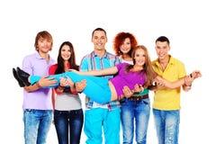 Студенты друзей Стоковое Фото