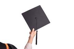 Студент-выпускники университета Стоковое Изображение