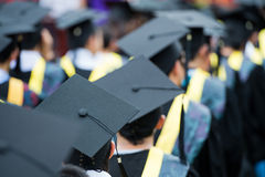 Студент-выпускники стоковое фото rf