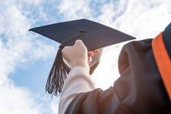 студент-выпускники Стоковые Фотографии RF
