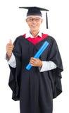 Студент-выпускник старшия Стоковая Фотография RF