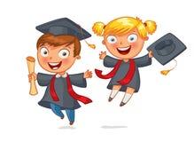 студент-выпускник бесплатная иллюстрация