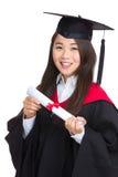 Студент девушки молодого студент-выпускника Стоковые Фото