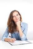 Студент девушки Стоковая Фотография RF