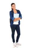 студент коллежа женский стоковое фото rf