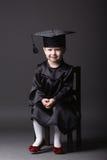 студент малыша диплома градуируя маленький Стоковая Фотография RF