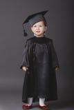 студент малыша диплома градуируя маленький Стоковые Изображения RF