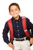 Студент: Милый студент готовый для школы Стоковая Фотография RF