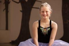 студент пола балета милый Стоковое Изображение