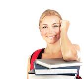 студент счастливого портрета милый Стоковая Фотография RF