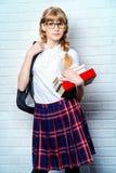 Студент с книгой Стоковые Фото