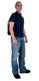 студент backpack Стоковые Фотографии RF