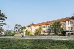 Студент Lat Da школа-интерната, Вьетнама Стоковые Фотографии RF