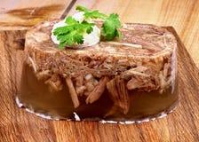Студень мяса Стоковые Фото