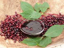 студень elderberry Стоковое Изображение RF