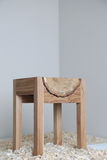 Стул дизайна деревянный Стоковые Изображения